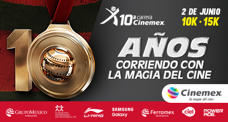 10ª Carrera Cinemex 2019