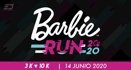 Carrera Barbie Run México 2020