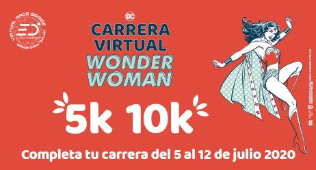 Carrera Virtual Wonder Woman 2020
