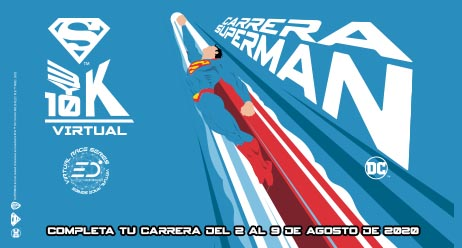 SUPERMAN 3 Y 10K VIRTUAL RUN 2020